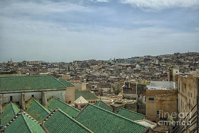 Madrasa Photograph - City Of Fez by Patricia Hofmeester