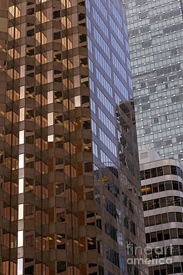 Photograph - City Of Glass Vancouver by John  Mitchell