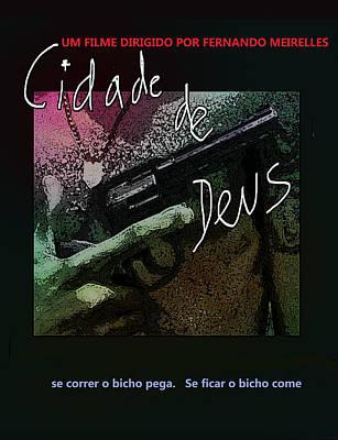 Latin Mixed Media - City Of God Movie Poster  by Paul Sutcliffe