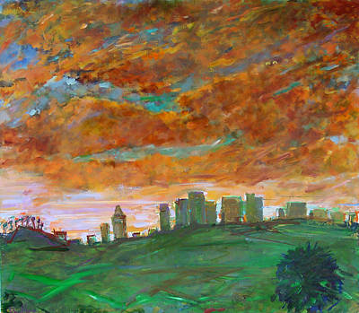 Painting - City Of Gold by Zolita Sverdlove