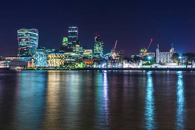 Photograph - City Of London by James Billings