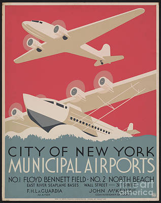 Photograph - City Of New York Airport by Dale Powell