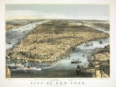 Photograph - City Of New York by Dale Powell