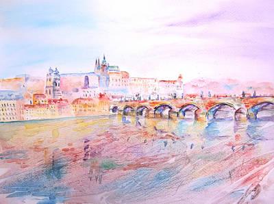 Painting - City Of Prague by Elizabeth Lock
