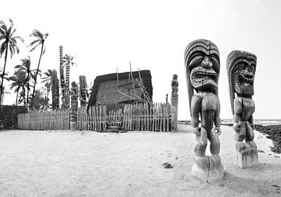 Tribal Art Photograph - City Of Refuge by Sean Davey