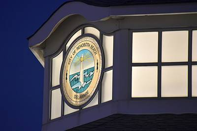 Photograph - City Of Rehoboth Beach Logo by Kim Bemis