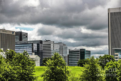 Photograph - City Of Richmond Under Stormy Skies 4740 by Doug Berry