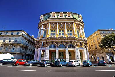 Photograph - City Of Rijeka Historic Architecture by Brch Photography