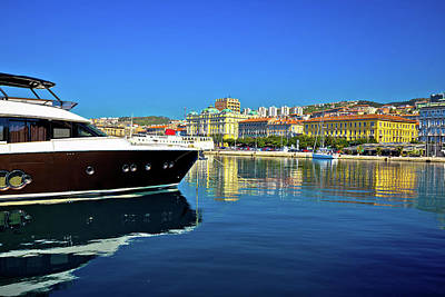 Photograph - City Of Rijeka Yachting Waterfront View, by Brch Photography