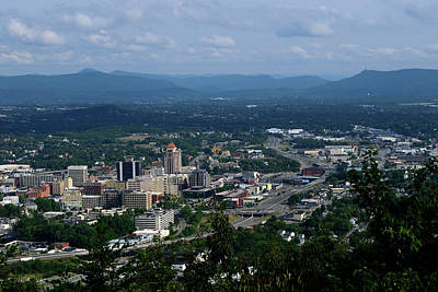 Photograph - City Of Roanoke by Karen Harrison