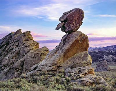 Photograph - City Of Rocks Figure by Leland D Howard