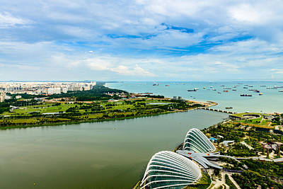 Photograph - City Of Singapore 2 by Michael Scott