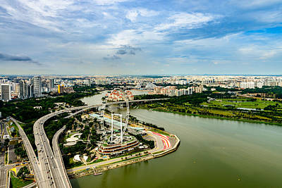 Photograph - City Of Singapore 3 by Michael Scott