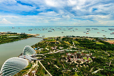 Photograph - City Of Singapore by Michael Scott