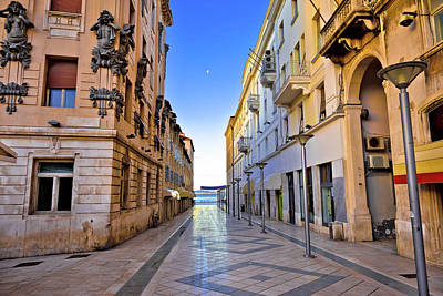 Photograph - City Of Split Architecture View In Marmontova Street by Brch Photography