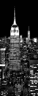 New York Skyline Photograph - City Of The Night by Az Jackson