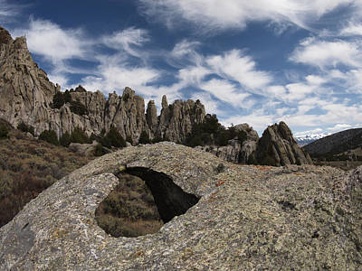 Photograph - City Of The Rocks by Leland D Howard