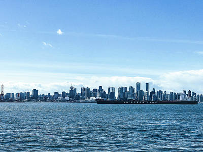 Photograph - City Of Vancouver From The North Shore by Amyn Nasser