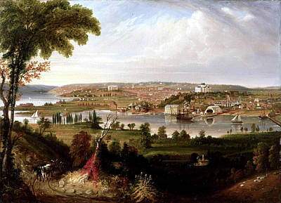 Painting - City Of Washington by George Cooke