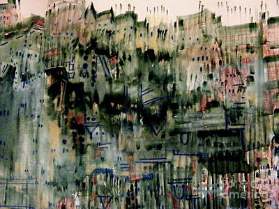 Painting - City On A Hill by Nancy Kane Chapman