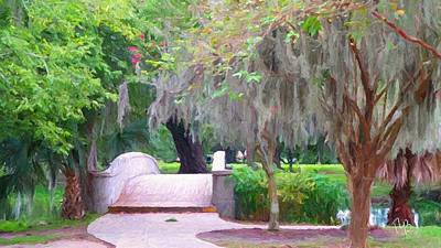 Painting - City Park - New Orleans by Tammy Lee Bradley