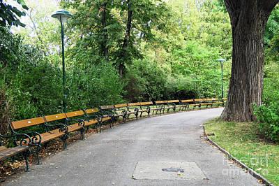 Cslanec Photograph - City Park, Vienna by Christian Slanec