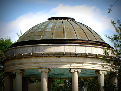 Popp Photograph - City Park's Popp Bandstand by Beth Vincent
