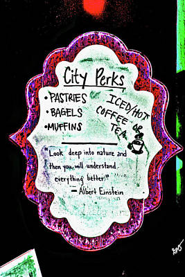 Photograph - City Perks by Gina O'Brien