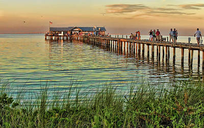 Photograph - City Pier - Anna Maria Island by HH Photography of Florida