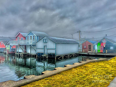 Photograph - City Pier Boathouse by William Norton
