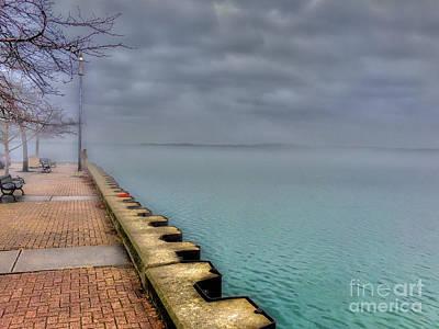 Photograph - City Pier Promenade  by William Norton