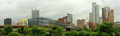 Photograph - City - Pittsburgh Pa - The Grand City Of Pittsburg by Mike Savad
