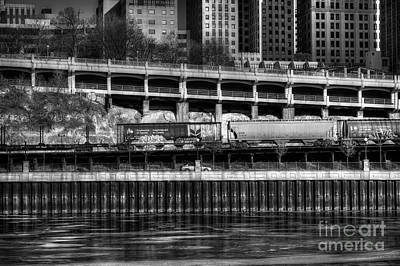 Photograph - City Rail by Jimmy Ostgard