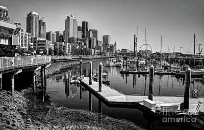 Photograph - City Reflection II by Deborah Klubertanz