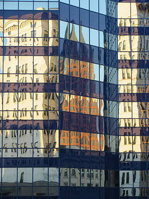 City Reflections 1 Art Print