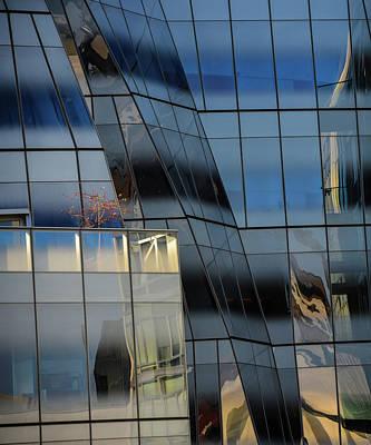 Avant Garde Digital Art - City Reflections by Mac Titmus