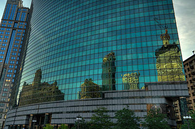 Photograph - City Reflections by Nisah Cheatham