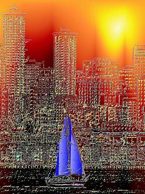 Photograph - City Sailin by Tim Allen