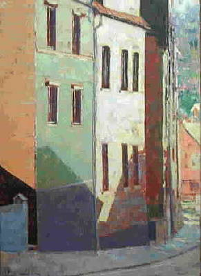 Painting - City Scape 1 by Walter Casaravilla