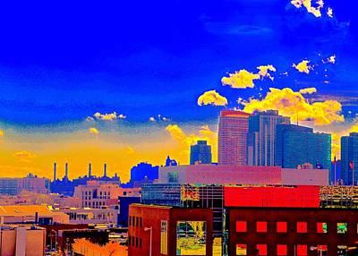 Photograph - City Scape by Gillis Cone