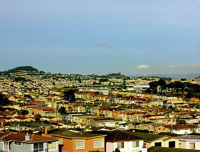 Photograph - City Scape San Francisco California by Lorna Maza