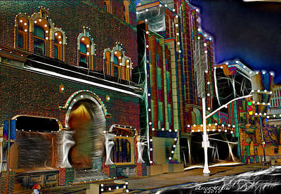 Art Print featuring the photograph City Scene by EricaMaxine  Price