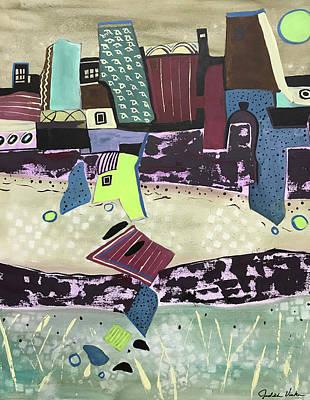 Painting - City Seranade by Judith Visker