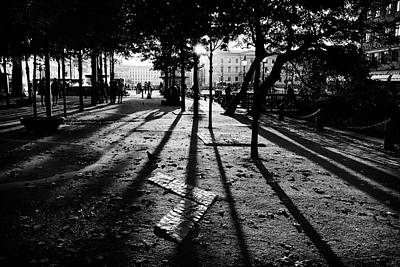Photograph - City Shadows by Karen Stahlros