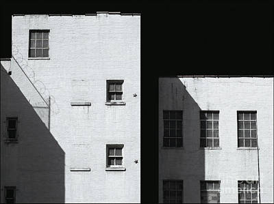 Photograph - City Shadows by Rhea Malinofsky