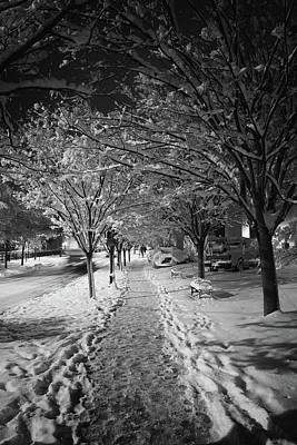 Photograph - City Sidewalks by Ben Shields
