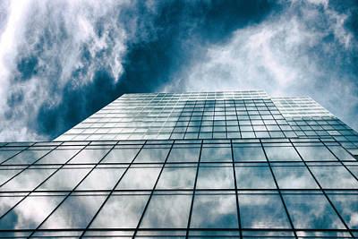 Photograph - City Sky Light by Jessica Jenney