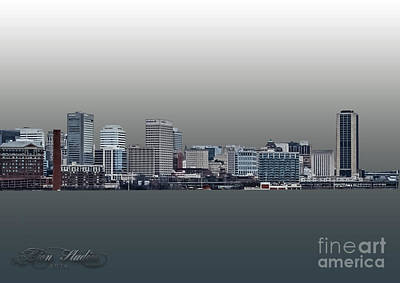 Photograph - City Skyline Of Rva by Melissa Messick