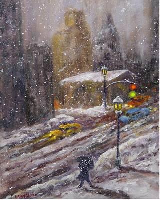 City Snow Fall Original