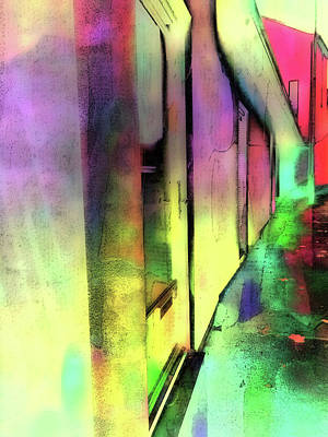 Abstact Photograph - City Street Abstract by Tom Gowanlock